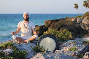Gong Training mit Ramji Singh